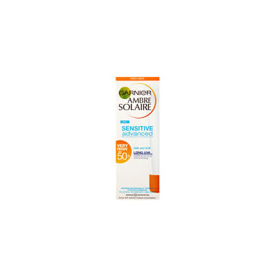 Garnier Ambre Solaire Sensitive Face Cream Advanced SPF50+