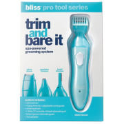 bliss trim and bare it grooming system