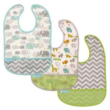 Babies R Us Kushies Cleanbib 3-Pack - Neutral