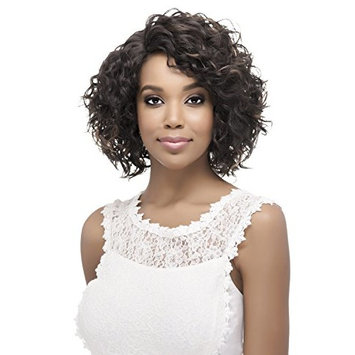 Vivica A Fox Hair Collection Paulette Natural Baby Swiss Lace Front Wig, FS1B/30, 8.5 Ounce