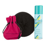 Sleep In Rollers Black Accessories (Bun Ring Batiste Clips)