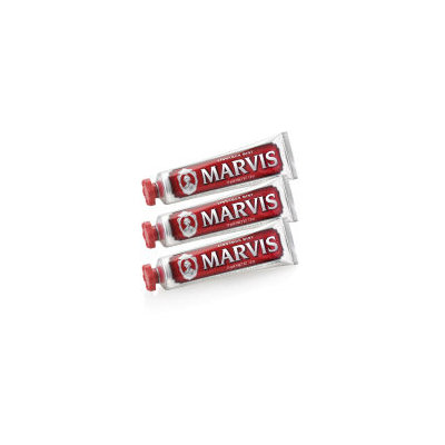 Marvis Cinnamon Mint Toothpaste Triple Pack (3 x 75ml)