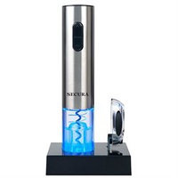 Secura Stainless Steel Electric Wine Opener Foil Cutter (Stainless Steel)