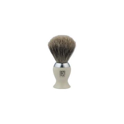 Geo F. Trumper Geo. F. Trumper IB2IB Simulated Ivory and Chrome Best Badger Shaving Brush
