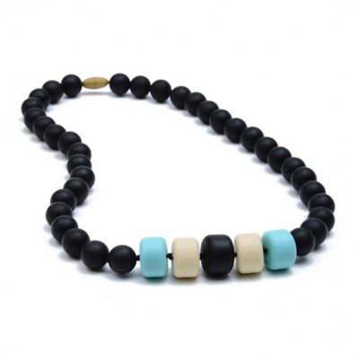 Infant Chewbeads 'Essex' Teether Necklace - Black