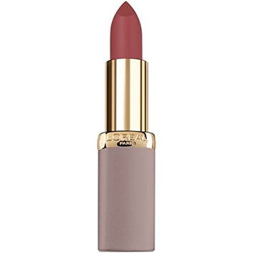 L'Oreal Paris Cosmetics Colour Riche Ultra Matte Highly Pigmented Nude Lipstick, Rebel Rouge, 0.13 Ounce