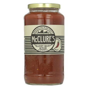 McClures Spicy Bloody Mary Mix 32 Oz-Single Pack