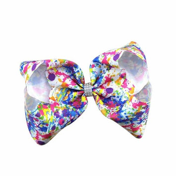 Hair Accessories,WuyiMC Girls Hair Bow Grosgrain Ribbon Boutique Knot Dance Glips Headwear