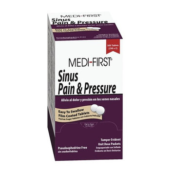 Sinus Pain Tablet, Pk 100