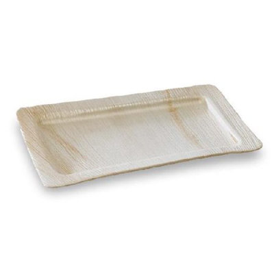 PacknWood 210BBA2818 Palmtray Palm Leaf Rectangular Tray, Pack Of 100