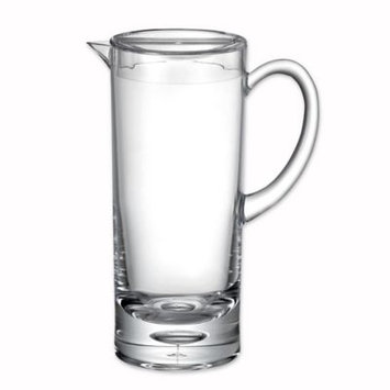 Bubble Bottom Pitcher in Clear