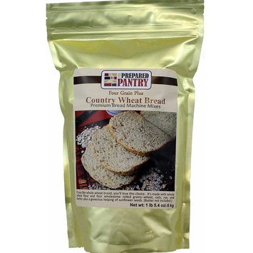 The Prepared Pantry Four Grain Country Wheat Bread Machine Mix, 21.4 Ounce