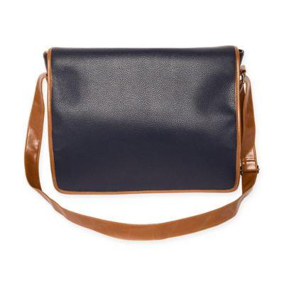 Brouk & Co. Alpha Messenger Bag in Blue