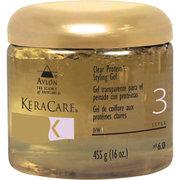 KeraCare Clear Protein Styling Gel by Avlon for Unisex - 16 oz Gel