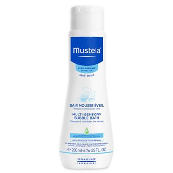 Brand Mustela Bébé Multi-Sensory Bubble Bath - Normal Skin 200ml