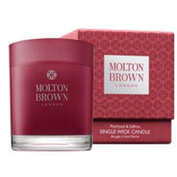 Molton Brown Single Wick Candle - Patchouli & Saffron