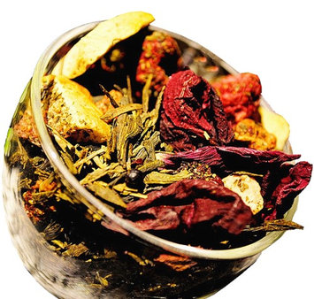 Chinese Tea Culture Berry Berry Green Tea - Berry Tea - Chinese Tea - Green Tea - Caffeinated - Tea - Loose Tea - Loose Leaf Tea - 2oz