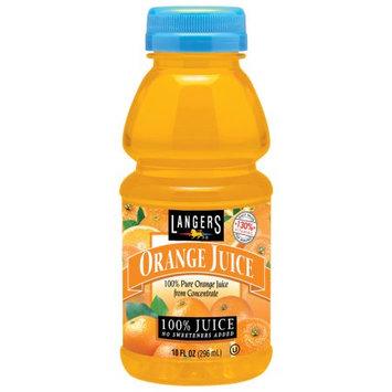 Langers Juice Langers 100% Orange Juice, 10 Fl Oz (Pack of 12)