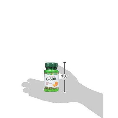 Nature's Bounty Vitamin C 500 mg Tablets 100 ea