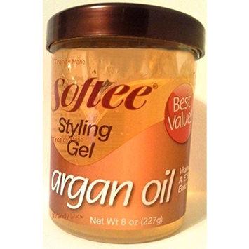 Softee Argan Oil Styling Gel by Softee