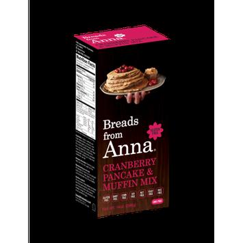Breads From Anna Gluten Free Pancake & Muffin Mix Cranberry 14 oz