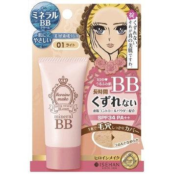 Kiss Me Heroine Make Lasting Mineral BB Cream SPF34 PA++ 01 Light 30g