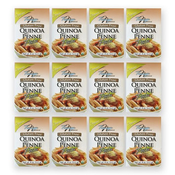 Tresomega Nutrition Organic Quinoa Pasta, Penne, 8 Ounce (Pack of 12)