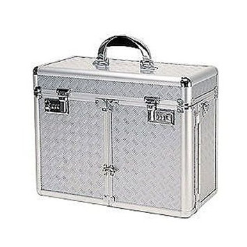 TZ Case 2 Extendable Tray Beauty Case with Lid Brush Or Pencil Pockets: 13