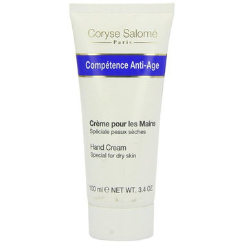 Coryse Salome Competence Anti-Age Hand Cream (Dry Skin), 3.4 Ounce