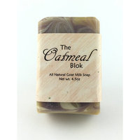 Oatmeal Bar - One All Natural Goat Milk Soap With Ground Oats (4.5oz)