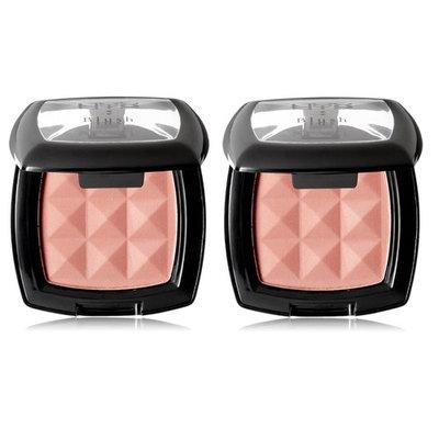 NYX Cosmetics Powder Blush, Dusty Rose, 0.14oz (Pack of 2) + LA Cross Blemish Remover 74851
