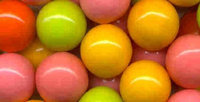 Candymachines Gumballs By The Pound - 2 Pound Bag of Neon Color