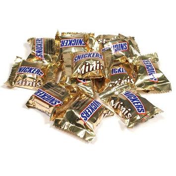 Snickers Bar Mini Size Milk Chocolate Bulk (3 pound Bag)