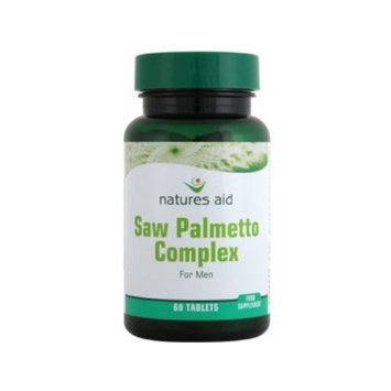 Natures Aid Saw Palmetto Complex For Men