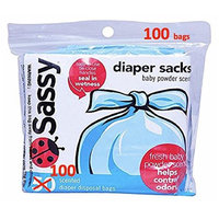 Sassy Baby Products Sassy Diaper Sacks, 100 Count