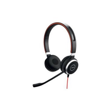 Gn Netcom Jabra Jabra EVOLVE 40 Stereo Headset - Stereo - Mini-phone - Wired - Over-the-head - Binaural - Circumaural