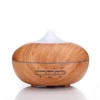 Konesky Aromatherapy Essential Oil Diffuser with Color LED Light Changing, Body Induction Aromatherapy, 300 ml