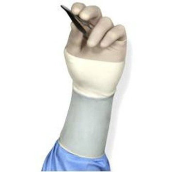 Medline MSG1090H SensiCare With Aloe Latex-Free Powder-Free Surgical Gloves, 9