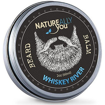 NATUREALLY YOU© - Whiskey River Scent - (2 oz) - Condition, Smooth, Soften, Tame, Remove Beard Itch