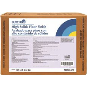High Solids Floor Finish, 5 Gallon Pail
