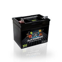 Black 12V 35AH 1050 Watts NB/T5 Car Stereo Battery replaces Stinger SPV35 - H00016-BLACK-00002