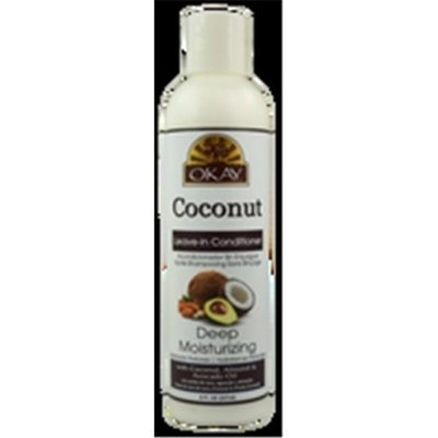 OKAY Coconut Oil Deep Moisturizing Leave In Conditioner 237 ml - 8 oz