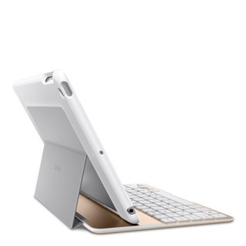 Belkin QODE Ultimate Keyboard/Cover Case for iPad Air 2 - White