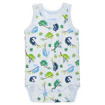 Summer Babybody - Curious Chameleons - 9-12M