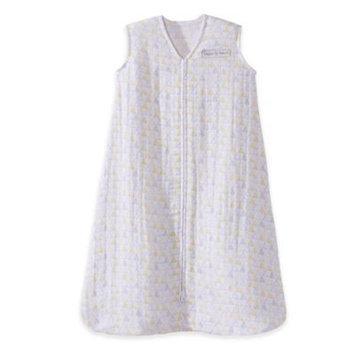 HALO® SleepSack® Small Triangle Organic Cotton Muslin Wearable Blanket in Grey/Yellow