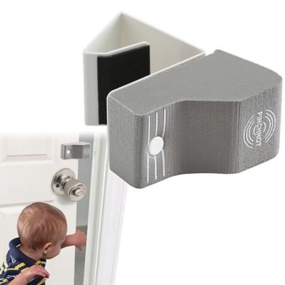 Pinch-Not® 2-Pack Foam Door Bumpers in Gray