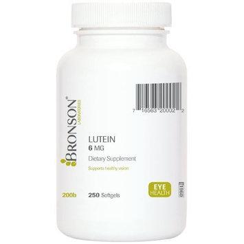 Bronson Lutein Softgels 6 mg, 250 Softgels