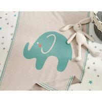 Elephant Stroller Blanket by Tag