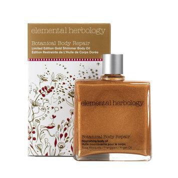 Elemental Herbology Gold Shimmer Botanical Body Oil