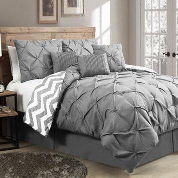 Geneva Home Fashion Ella 7 Piece Reversible Comforter Set